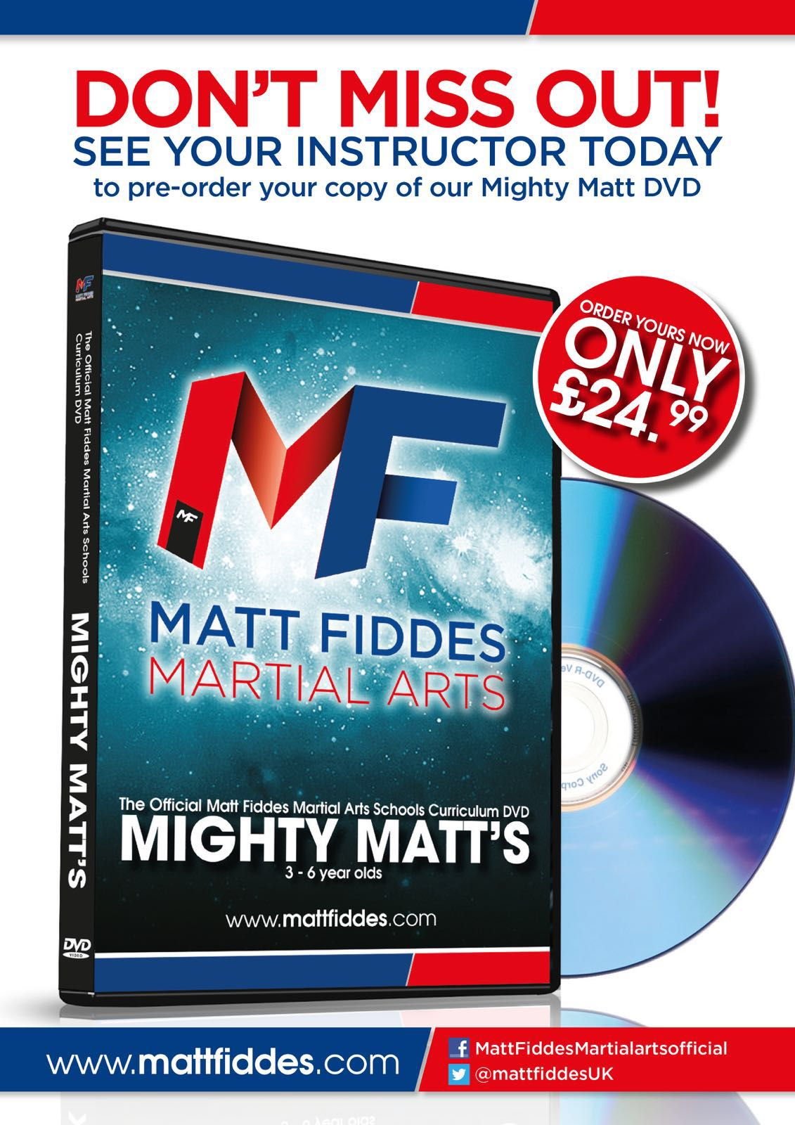NEW Mighty Matt Training DVD
